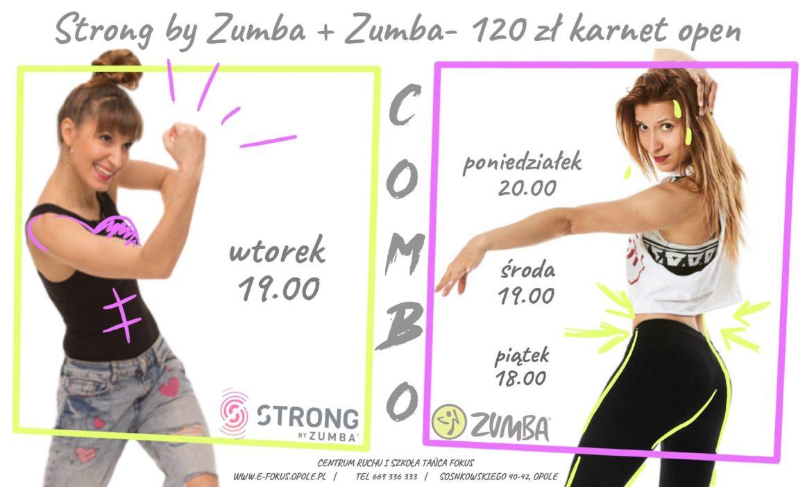 COMBO ZUMBA+Strong by ZUMBA